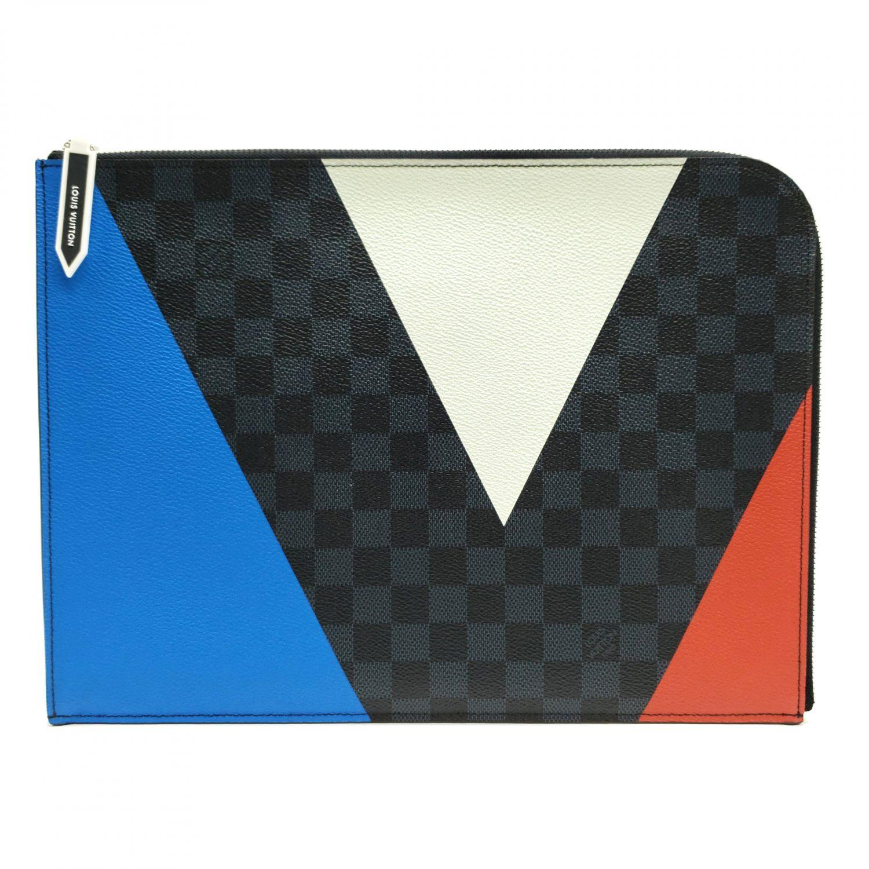 438b11a334eb2 Louis Vuitton Pochette Jour GM America s Cup Damier Cobalt Regatta ...